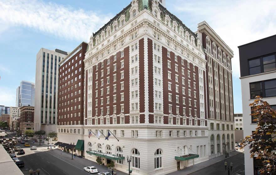 the Benson Hotel in Portland, Oregon